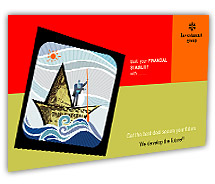 Post Card Templates investment company