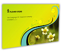 Post Card Templates florists