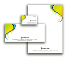 Corporate Identity Templates florists