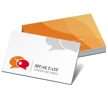 Communications Effective Communication business-card-templates