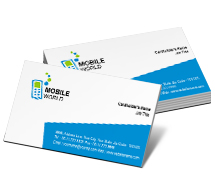 Business Card Templates mobile communications