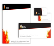 Corporate Identity Templates security system house