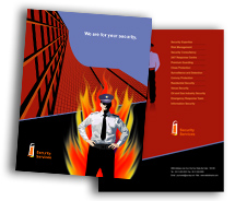 Security Security System House brochure-templates