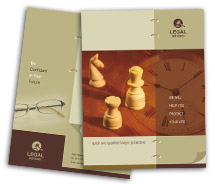 Services Legal Consulting brochure-templates