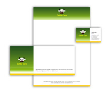Corporate Identity Templates cattle farming