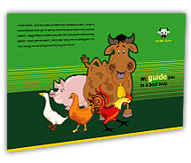 Post Card Templates cattle farming