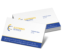 Business Card Templates digital electronics