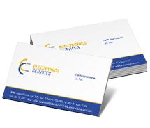 Business Card Templates digital electronics