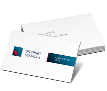 Business Card Templates internet provider service