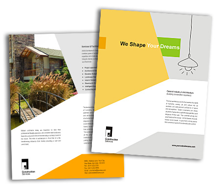 Complete Brochure  View with Layout For Wooden Construction