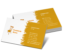 Business Card Templates furniture store