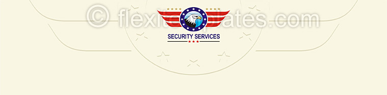 Actual Corporate Identity  Design For Security Guards Services