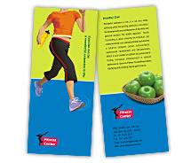 Beauty Fitness Center brochure-templates