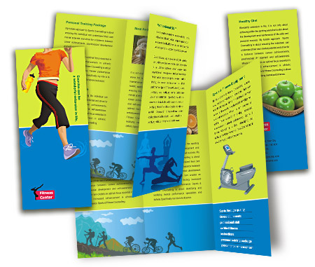 Complete Brochure  View with Layout For Fitness Center