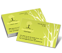 Business Card Templates Nature Environmental Consulting