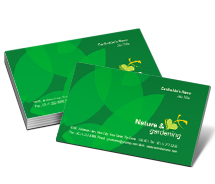 Nature Greenhouse Gardening business-card-templates