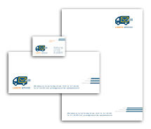Corporate Identity Templates international logistic services