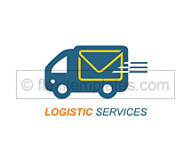 Logo Templates international logistic services