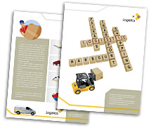 Brochure Templates logistics service