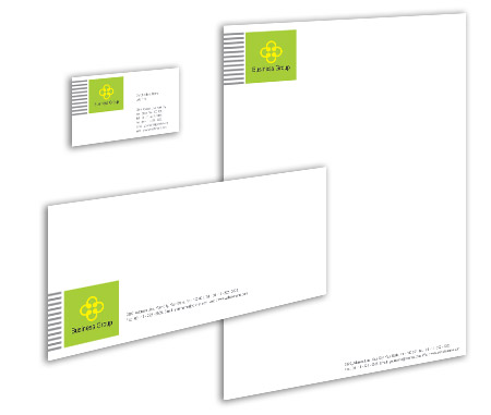 Complete Corporate Identity  View with Layout For Corporate Finance