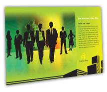 Post Card Templates corporate finance