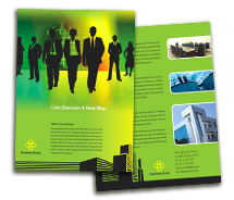 Finance Corporate Finance brochure-templates