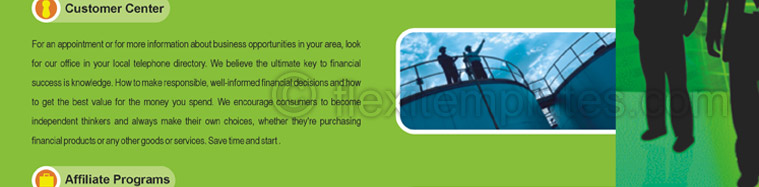 Actual Brochure  Design For Corporate Finance