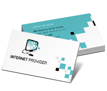 Business Card Templates internet providers