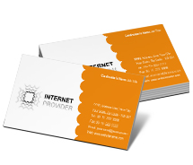 Business Card Templates internet service provider