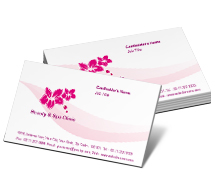 Beauty Select Business Group First business-card-templates