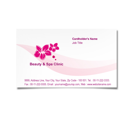 Complete Business Card  View with Layout For Select Business Group First