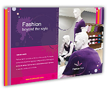 Post Card Templates new fashion shop