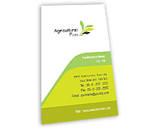 Agriculture Agricultural Firm BusinessCardTemplates