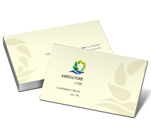 Business Card Templates online agricultural store