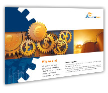 Post Card Templates Finance Industrial Finance