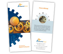 Brochure Templates industrial finance