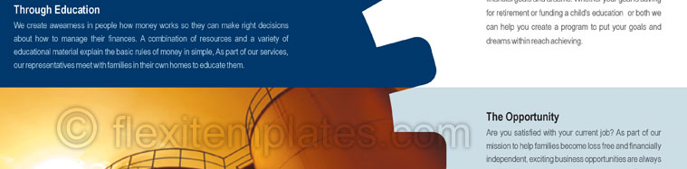 Actual Brochure  Design For Industrial Finance