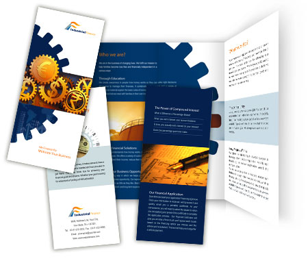 Complete Brochure  View with Layout For Industrial Finance