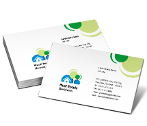 Business Card Templates real estate solution