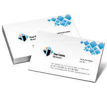 Business Card Templates real estate service