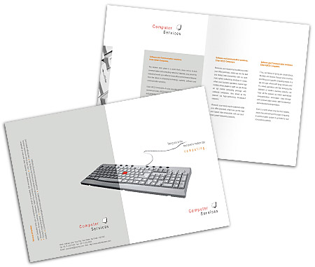 Complete Brochure  View with Layout For Software Development Services