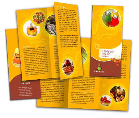 Complete Brochure  View with Layout For Bar and Grill