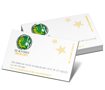 Business Card Templates Hotels Seafood Dining