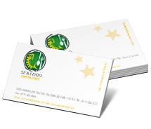 Business Card Templates seafood dining