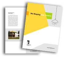 Brochure Templates Architecture Wooden Construction