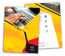 Computers Repair Computer brochure-templates