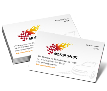Business Card Templates cars sports cars