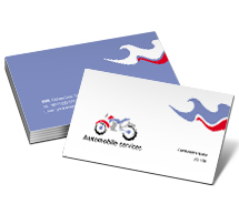Automobiles Bikes Repair business-card-templates