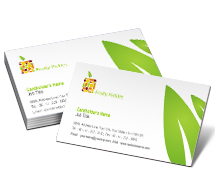 Business Card Templates fruit pickles