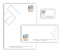 Corporate Identity Templates computer network
